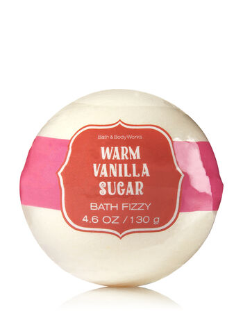 Signature Collection Warm Vanilla Sugar Bath Fizzy - Bath And Body Works