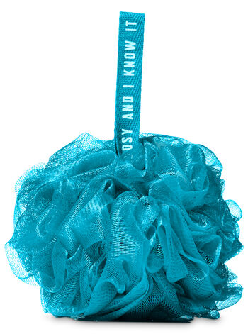 Dark Blue Mesh Sponge - Bath And Body Works