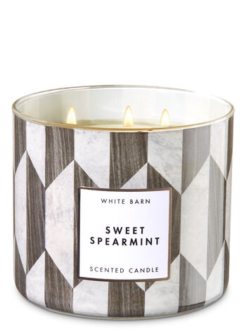 Sweet Spearmint 3-Wick Candle - Bath And Body Works