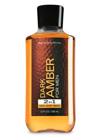 Signature Collection Dark Amber 2-in-1 Hair + Body Wash - Bath And Body Works
