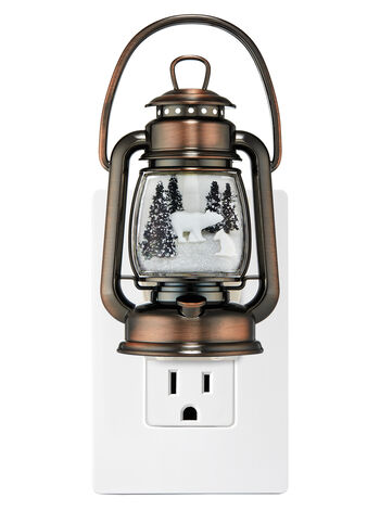 Snowy Lantern Scene Nightlight Wallflowers Fragrance Plug