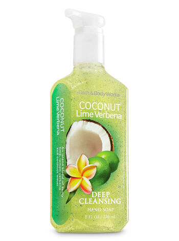 Coconut Lime Verbena Deep Cleansing Hand Soap - Bath And Body Works