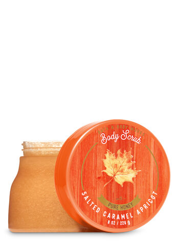 Signature Collection Salted Caramel Apricot Body Scrub - Bath And Body Works