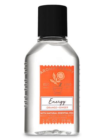 Aromatherapy Energy - Orange & Ginger Travel Size Body Wash & Foam Bath - Bath And Body Works