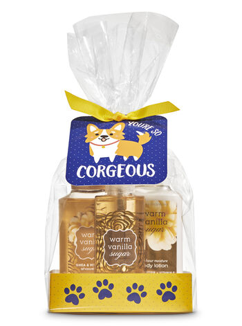 Warm Vanilla Sugar You're So Corgeous Mini Gift Set