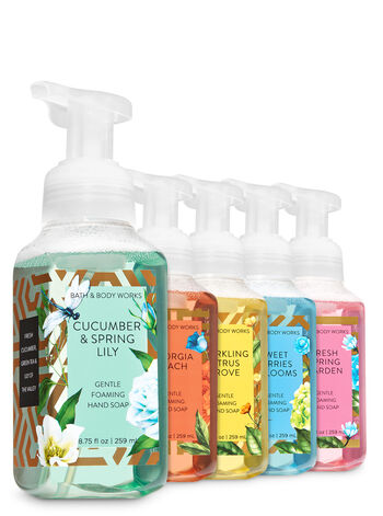 Mom's Garden Gentle Foaming Hand Soap, 5-Pack - Bath And Body Works