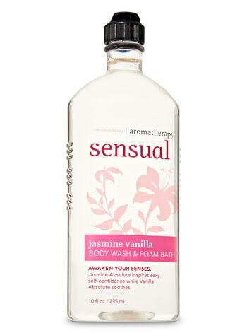Aromatherapy Jasmine Vanilla Body Wash & Foam Bath - Bath And Body Works
