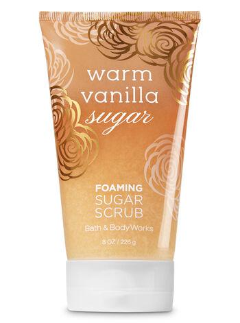 Signature Collection Warm Vanilla Sugar Foaming Sugar Scrub - Bath And Body Works