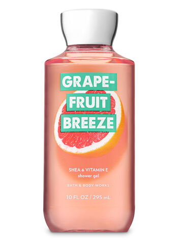 Signature Collection Grapefruit Breeze Shower Gel - Bath And Body Works