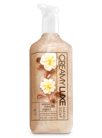 Warm Vanilla Sugar Creamy Luxe Hand Soap - Bath And Body Works