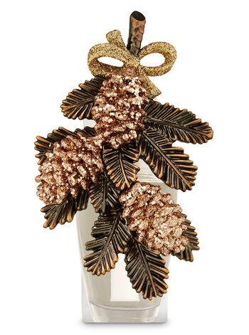 Glittery Pinecone Swag Wallflowers Fragrance Plug