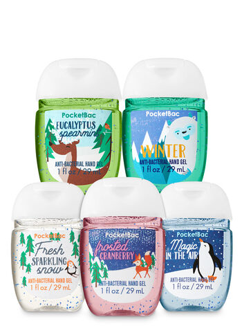 Snow Delightful PocketBac Hand Sanitizers, 5-Pack - Bath And Body Works