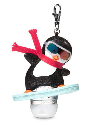 Snowboarding Penguin Light-Up PocketBac Holder