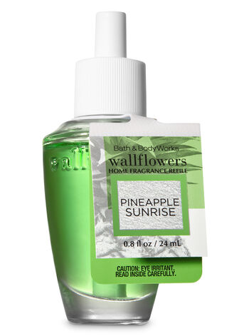 Pineapple Sunrise Wallflowers Fragrance Refill - Bath And Body Works