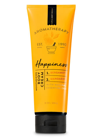 Aromatherapy Happiness - Bergamot & Mandarin Body Cream - Bath And Body Works