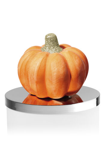 Ceramic Pumpkin 3-Wick Candle Magnet - Bath And Body Works