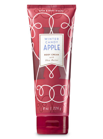 Signature Collection Winter Candy Apple Ultra Shea Body Cream - Bath And Body Works