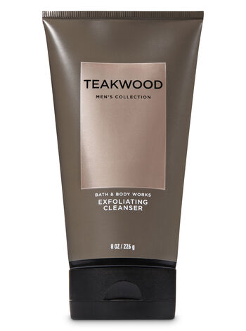 Signature Collection Teakwood Exfoliating Cleanser - Bath And Body Works