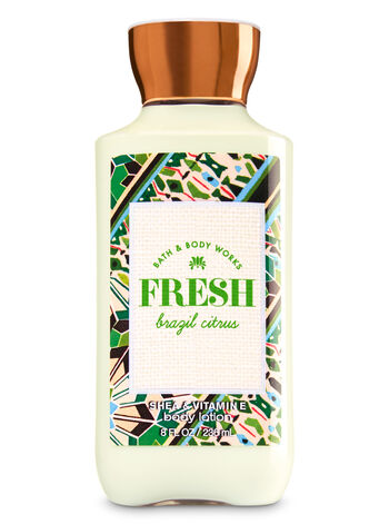 Signature Collection Fresh Brazil Citrus Body Lotion - Bath And Body Works