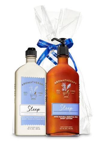 Lavender Vanilla Aromatherapy Gift Kit - Bath And Body Works