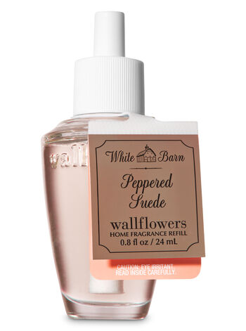 Peppered Suede Wallflowers Fragrance Refill - Bath And Body Works