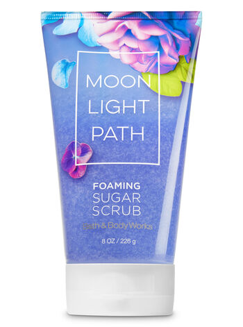 Signature Collection Moonlight Path Foaming Sugar Scrub - Bath And Body Works