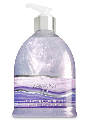 Amethyst Lily Creamy Luxe Hand Soap - Bath And Body Works