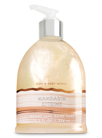 Mandarin Citrine Creamy Luxe Hand Soap - Bath And Body Works