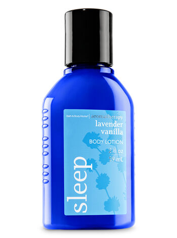 Aromatherapy Lavender Vanilla Travel Size Body Lotion - Bath And Body Works