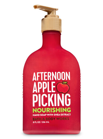 Afternoon Apple Picking Hand Soap with Shea Extract - Bath And Body Works
