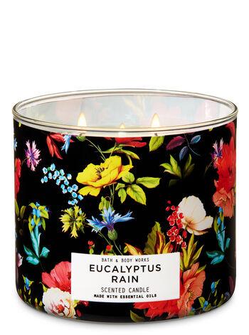 Eucalyptus Rain 3-Wick Candle - Bath And Body Works