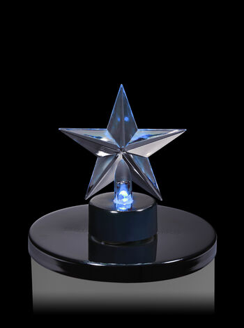 Star Light-Up 3-Wick Candle Magnet
