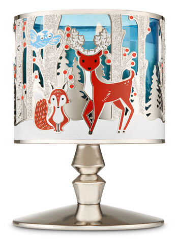 Winter Critters Pedestal 3-Wick Candle Holder - Bath And Body Works