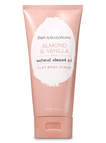 Signature Collection Almond & Vanilla Clay Body Scrub - Bath And Body Works