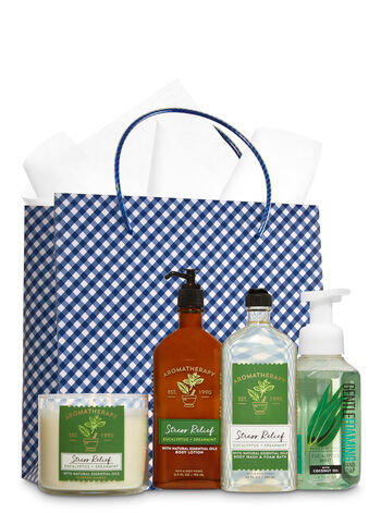Stress Relief - Eucalyptus & Spearmint Ultimate Fragrance Fan Gift Kit - Bath And Body Works