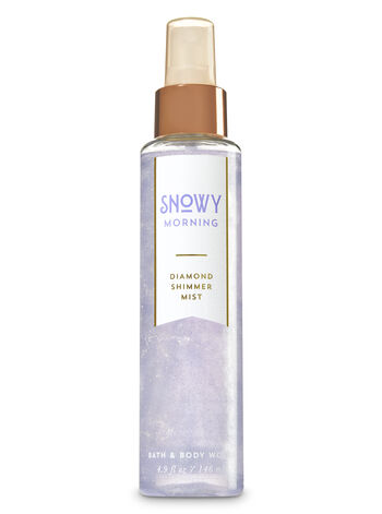 Signature Collection Snowy Morning Diamond Shimmer Mist - Bath And Body Works