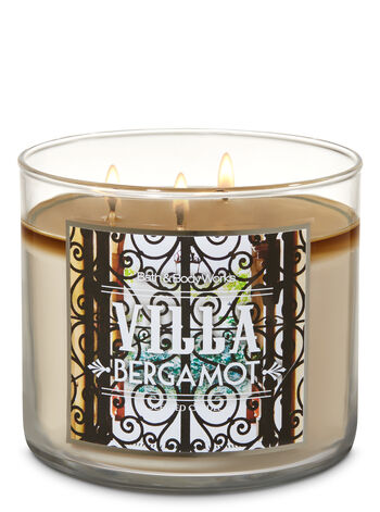 Villa Bergamot 3-Wick Candle - Bath And Body Works