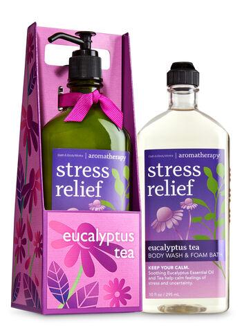 Aromatherapy Eucalyptus Tea Lather & Lotion Gift Set - Bath And Body Works