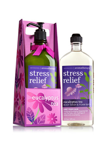 Aromatherapy Eucalyptus Tea Lather & Lotion Gift Set - Bath And Body Works