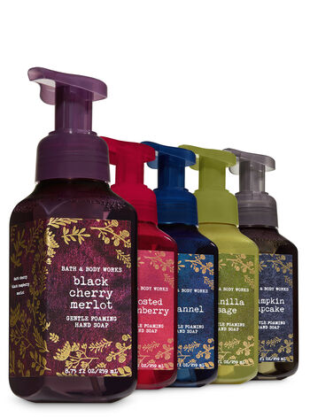 Autumn Essence Gentle Foaming Hand Soap, 5-Pack - Bath And Body Works