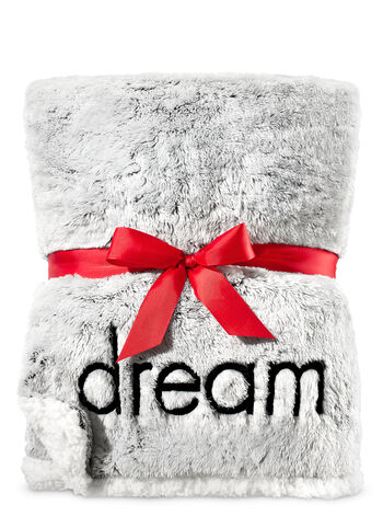 "Sweet ""Dreamer"" Faux Fur Blanket - Bath And Body Works"