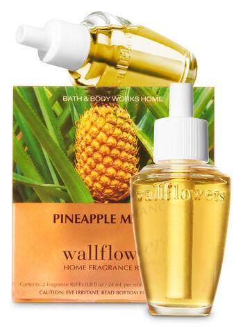 Pineapple Mango Wallflowers Refills, 2-Pack - Bath And Body Works