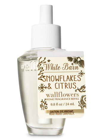Snowflakes & Citrus Wallflowers Fragrance Refill - Bath And Body Works