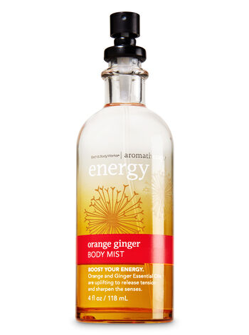 Aromatherapy Orange Ginger Body Mist - Bath And Body Works