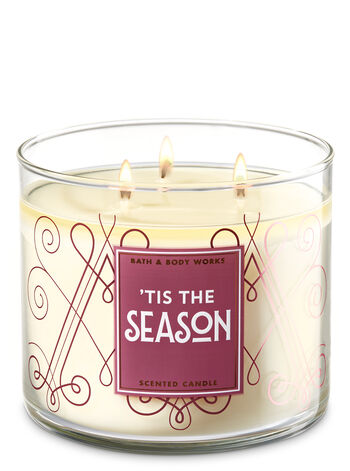 Tis The Season 3-Wick Candle - Bath And Body Works