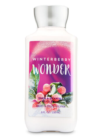Signature Collection Winterberry Wonder Body Lotion - Bath And Body Works