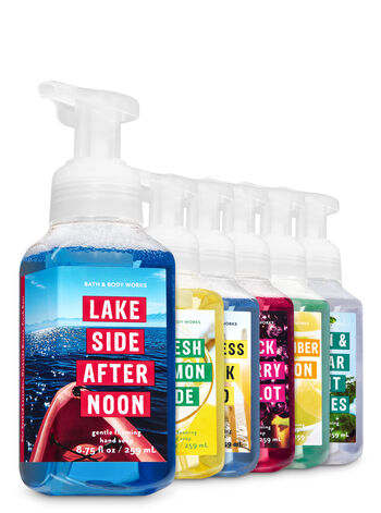 American Summer Fun 6-Pack Gentle Foaming Hand Soap - Bath And Body Works