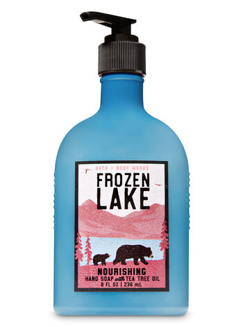 Frozen Lake Hand Soap with Tea Tree Oil - Bath And Body Works