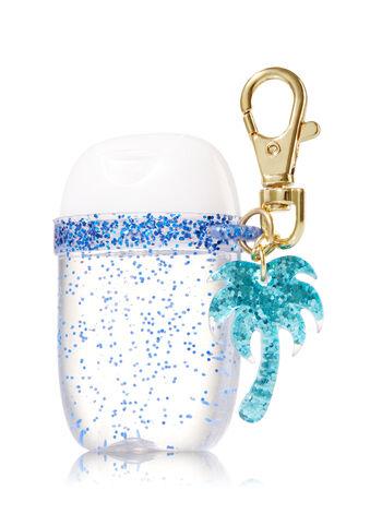 Palm Tree Glitter Band PocketBac Holder - Bath And Body Works