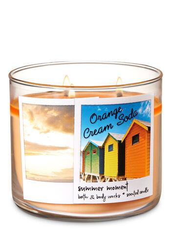Orange Cream Soda 3-Wick Candle - Bath And Body Works